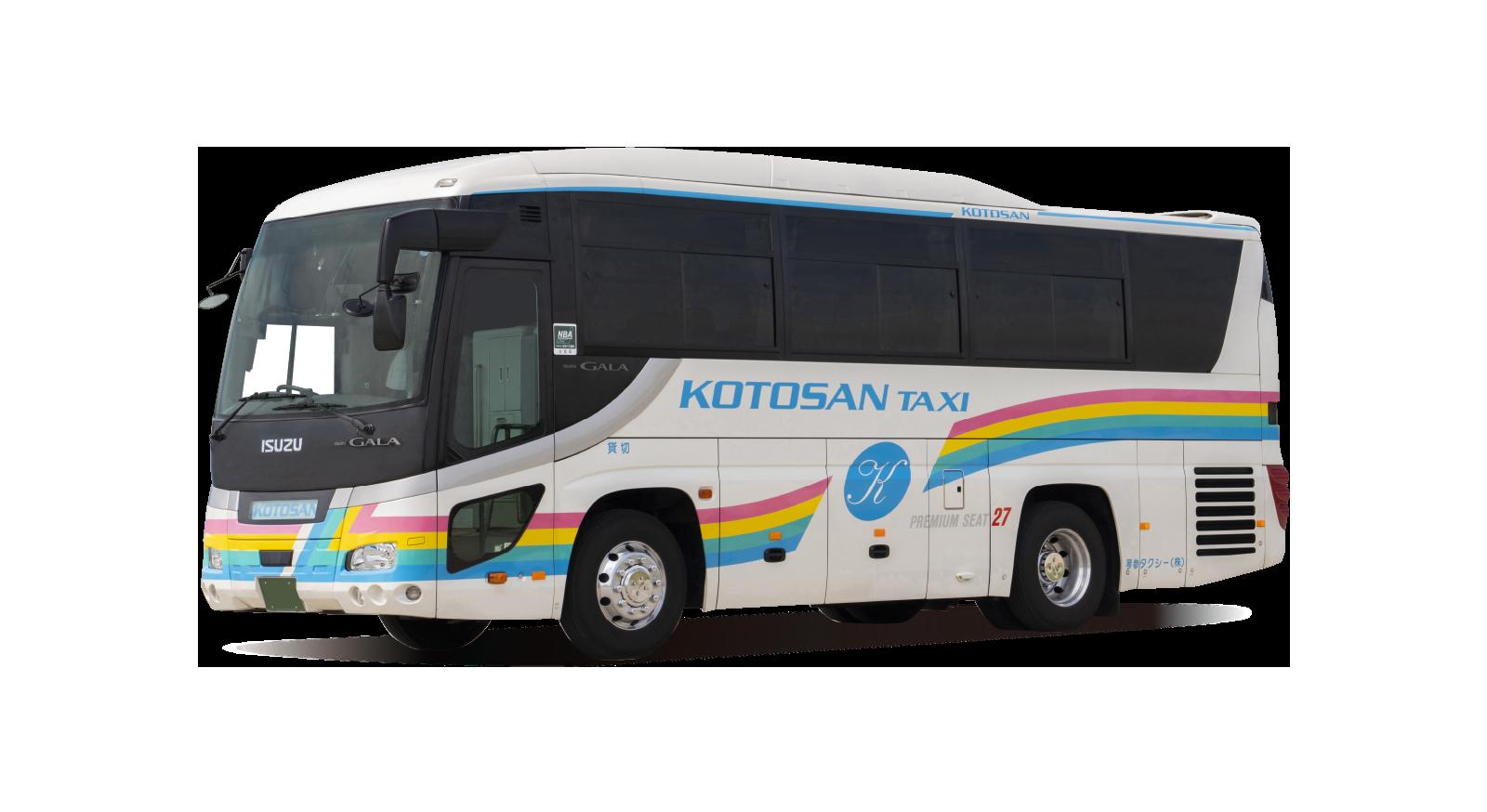 琴参タクシーバス 28シート01